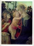 Reproduction Tableau  Sandro Botticelli  La Vierge L'Enfant Jésus Et Le Petit Saint Jean 1941 Ed. Braun Et Cie TBE - Autres