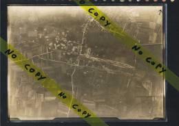 Handzame Luchtopname Vue Aerienne Eerste Wereldoorlog 1914 1918 ( 1917 ) Formaat 23 Cm / 20 - Kortemark