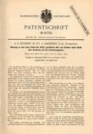Original Patentschrift - A.R. Pechiney & Co à Salindres , Gard , 1888 ,Fours Pour Le Chauffage Des Solides !!! - Frankreich
