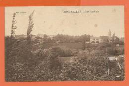 Q517, Montbellet, Circulée 1927 Sous Enveloppe - France