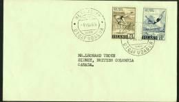 1955  Sports: Lutte. Plongeon  FDC Pour Le Canada - FDC