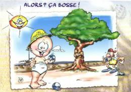 P'tit TOM   Alors , Ca Bosse ! Petanque    Recto Verso - Humour