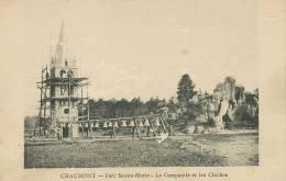 Chaumont Parc Ste Marie Campanile Et Cloches Construction Bells Campanas - Chaumont