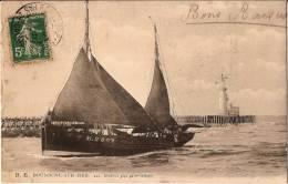 CPA N°121 - BOULOGNE SUR MER 62 Pas De Calais - 1907  Retour Par Gros Temps - Boulogne Sur Mer