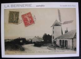 La Bernerie (44) - Autrefois..le Moulin Doucet - La Bernerie-en-Retz