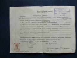 A 1874   DOC. ALLEMAND - Seconda Guerra Mondiale