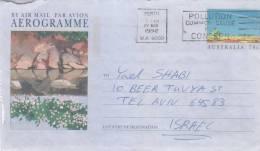 Card Sent To Israel - Australia