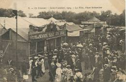 Le Creusot 5 Saint Laurent 1904 Fete Foraine Place Schneider Phenomène Vivant Jean Libbera - Le Creusot