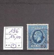 Grande-Bretagne:n° 196 Oblitéré ,Cote Yvert : 15,00 € - Used Stamps