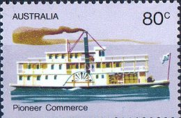 Australia 1972 Pioneer Life  80c Commerce MNH - 1966-79 Elizabeth II