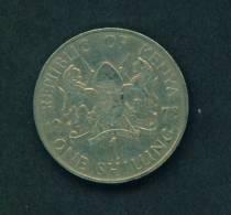 KENYA  -  1978  1 Shilling  Circulated As Scan - Kenya