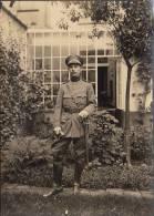 Belle Grande Photo Militaire Soldat Avec Sabre  18cm X 13cm - Lieux