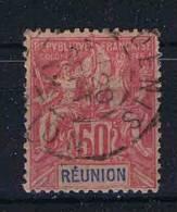 Reunion: Yv Nr 42 Used /obl, Maury Cat Value € 50 - Reunion Island (1852-1975)