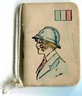 CALENDARIETTO DA BORSETTA NANCY ANNO 1918 CON TARIFFE POSTALE FRANCIA PETIT ALMANACH AVEC TARIF POSTAL - Calendari