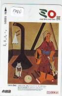 CARTE PREPAYEE JAPON * PEINTURE * ART * JOAN MIRO *  Karte Gemälde (1280) Japan * SPAIN RELATED - Pintura