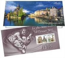 France 2012 - Souvenir Philatélique Le Plus Beau Timbre De L'année - Metz ** (sous Blister) - France