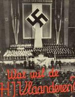 Livre Propagande Ww 2 Hitler Jugend Vlaanderen 1943 - Documents