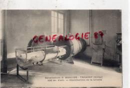 03 -  TRONGET - SANATORIUM F. MERCIER - DESINFECTION DE LA LITERIE