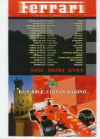 REPUBBLICA DI SAN MARINO - BROCHURE DEDICATA ALLA FERRARI - Errors, Freaks & Oddities (EFO)