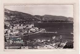 MONACO / MONTE CARLO / Vue Sur La Ville Et Le Port / La Pointe Du Cap Martin - Harbor