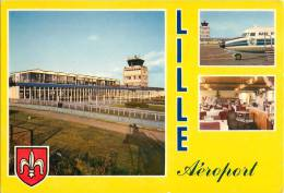 LILLE L'AEROPORT LILLE-LESQUIN 59 NORD AVIATION AIRPORT - Lille