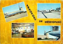 AEROPORT DE BORDEAUX-MERIGNAC L'AEROGARE AVIATION AIRPORT 33 - Merignac