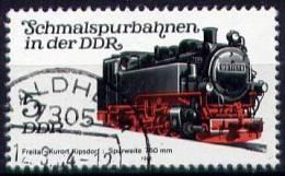 DDR  Mi. 2629 Schmalspurbahn II - Trains