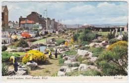 Rhyl - East Parade, Rock Gardens: FORD ANGLIA & ANGLIA SUPER, HILLMAN MINX, DOUBLE DECKER BUS Etc. - Turismo