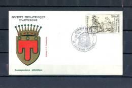 FRANCE  PJ JOURNEE DU TIMBRE 26 FEV 1983 CLERMONT FERRAND - FDC