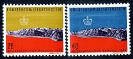 L0314) LIECHTENSTEIN 1958  Mi.#369-70  Mnh** - Liechtenstein