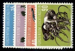 L0316) LIECHTENSTEIN 1958  Mi.#365-68  Mnh** - Liechtenstein