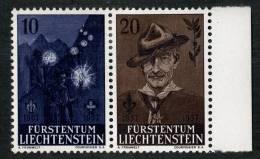 L0323) LIECHTENSTEIN 1957  Mi.#360-61  Mint* - Liechtenstein