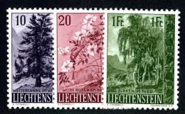 L0332) LIECHTENSTEIN 1957  Mi.#357-59  Mnh** - Liechtenstein