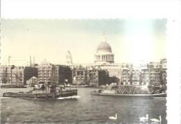 61642)cartolina Illustratoria London - St. Paul Cathedral E Panorama - St. Paul's Cathedral