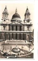61653)cartolina Illustratoria London - Paul's Cathedral E Panorama - St. Paul's Cathedral