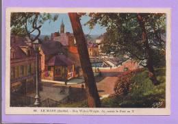 Dépt 72 - LE MANS - Rue Wilbur-Wright - Au Verso : Invitation Au 3ème Salon De La Carte Postale Du Maine - Le Mans