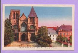 Dépt 72 - LE MANS - Eglise Notre-Dame De La Couture  - Verso : Entrée 1/2 Tarif Au 8è Salon De La Carte Postale Au Mans - Le Mans