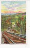GOFFSTOWN N H INCLINE RAILWAY , LEADING TO UNCANOONUC MOUNTAIN SKI TRAIL - Etats-Unis