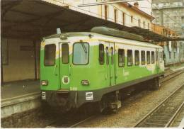 Nº411 POSTAL DE ESPAÑA DE UN TRANVIA DE LOS FERROCARRILES VASCOS  (TREN-TRAIN-ZUG) AMICS DEL FERROCARRIL - Tranvía