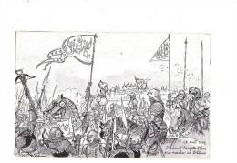 JEANNE D´ARC. - A. ROBIDA Illustrateur - N°10 Série B. (Blois) - Personnages Historiques