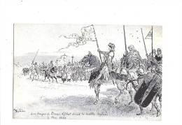 JEANNE D´ARC. - A. ROBIDA Illustrateur - N°3 Série C. (Orléans) - Personnages Historiques