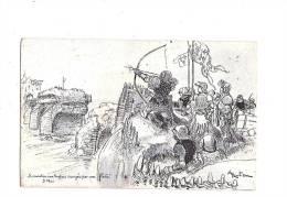 JEANNE D´ARC. - A. ROBIDA Illustrateur - N°4 Série C. (Orléans) - Personnages Historiques