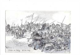 JEANNE D´ARC. - A. ROBIDA Illustrateur - N°12 Série C. (Patay) - Personnages Historiques