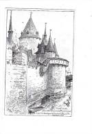JEANNE D´ARC. - A. ROBIDA Illustrateur - N°6 Série E. (Compiègne) - Historische Persönlichkeiten