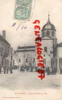 03 -  BELLENAVES - L´ EGLISE ET L´ HOTEL DE VILLE