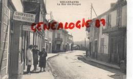 03 -  BELLENAVES - LA RUE DES FORGES   COIFFEUR
