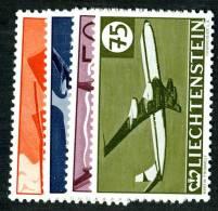 L0368) LIECHTENSTEIN 1960  Mi.#391-94  Mnh** - Liechtenstein