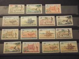 MALI - 1961 PITTORICA 15 Valori - NUOVI(++)-TEMATICHE - Mali (1959-...)