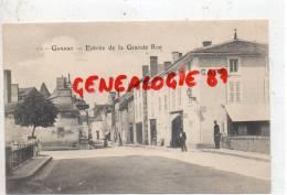 03 -  GANNAT -  ENTREE DE LA GRANDE RUE - CAFE