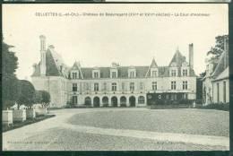 Celette - Chateau De Beauregard - La Cour D'honneur  - Ui171 - Francia